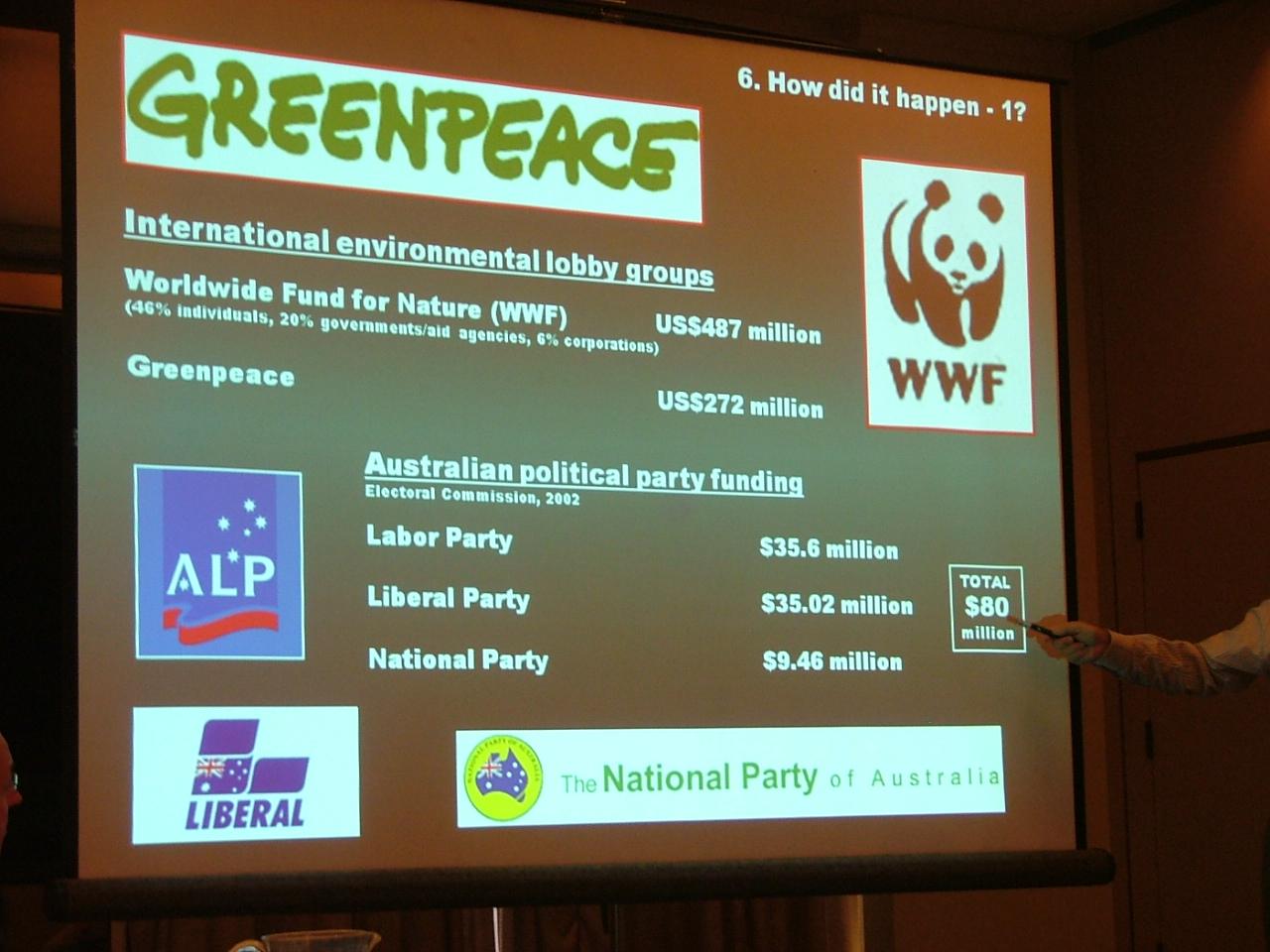 AEF conference slide