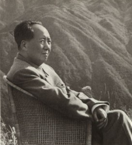 Mao relaxing in mountains