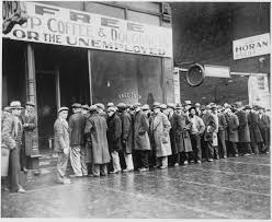 unemployed queue 1930s