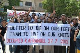 to die on the feet Syria